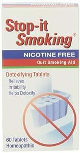 Natrabio Stop-It Smoking Tablets, 60 Count