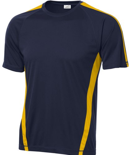 Men's Athletic All Sport Training Tee Shirts in 23 Colors