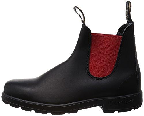 508 BLUNDSTONE Red Black boots Chelsea UTdq1xU