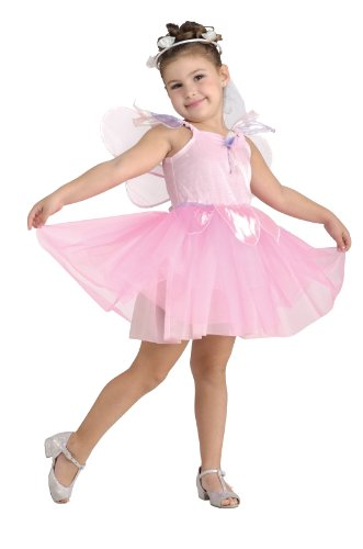 [Pretty Pink Fairy Costume,Toddler] (Fairy Godmother Costume Toddler)