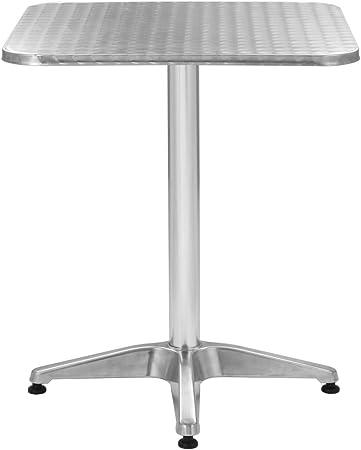 Tidyard Table de Jardin Carrée   Table d\'Extérieur   Table ...