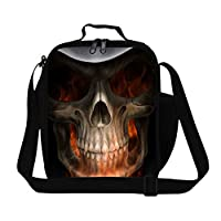 GiveMeBag Generic Stylish Mens Work Lunch Bag with Strap Children School Meal Bag Personalized Lunch Container