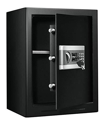 Caja fuerte electrónica de seguridad, acero. Cerradura de seguridad. Ignífuga 500 x 380 x 310 mm: Amazon.es: Industria, empresas y ciencia
