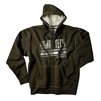 Amazon.com : Virginia Tech VT Hokies Men&39s Hooded Dark Green