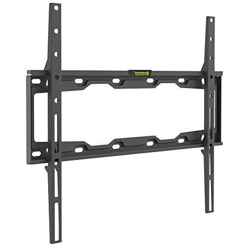 Barkan Auto-lock Patent Fixed Curved/Flat TV Wall Mount for 29