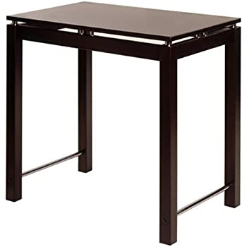 kitchen island wood table top wooden legs cherry this item winsome espresso