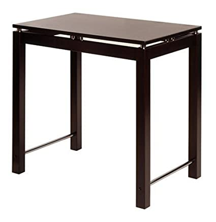 Winsome Wood Kitchen Island, Espresso