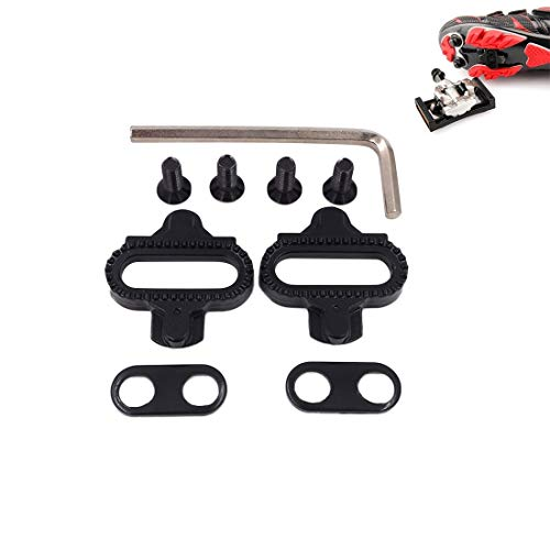 VAXT Point 2 PCS MTB SPD Pedal Cleat for Shimano Mountain Bike Lock System SM-SH51 Bicycle Treadle Cleats Fit All Shimano SPD Bike Shoes