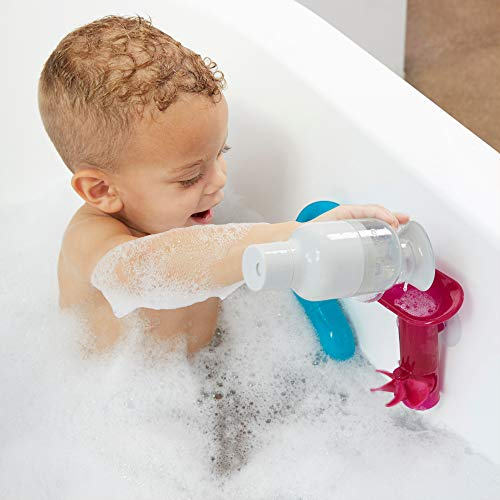 415jPVAseSL - Boon Building Bath Toy Bundle with Pipes, Cogs and Tubes, Pack of 13