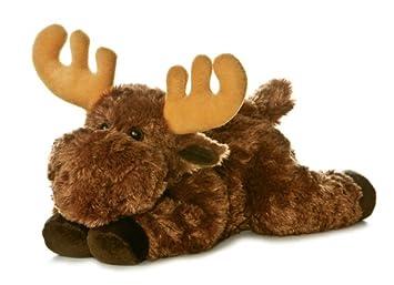 Amazon Com Aurora World Flopsie Moose 12 Toys Games