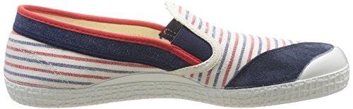 Marine Kawasaki Slim Sneakers Blau Unisex Navy Red Erwachsene Fantasy 1rPHqrwY