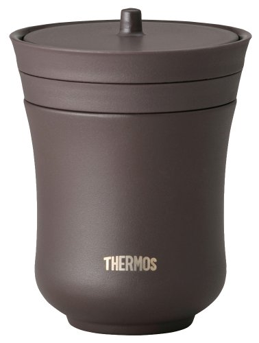 THERMOS vacuum insulation teacup 200ml chestnut JCZ-200 KUR (japan import) by THERMOS