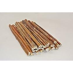 "12"" Bully Sticks - USDA & FDA Approved Free Range Regular 12"", By Top Dog Chews (20 Pack)"