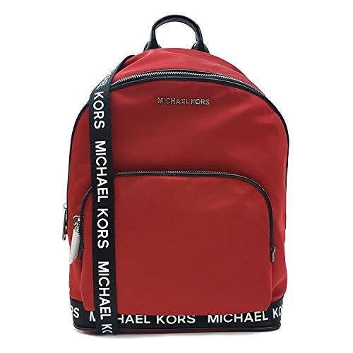Michael Kors Connie Chili Nylon Medium Sport Logo Backpack (35S9SI7B8C)