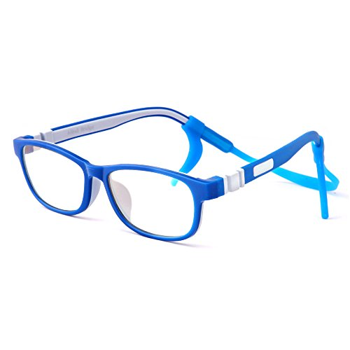 Mind Bridge Kids Computer Glasses Video Gaming Glasses - Anti Harmful Blue Light / UV400   Anti Glare   Protection Eyewear for Children Digital Screen Time & Technology Use   Model 509