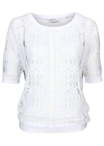BROADWAY NYC - Camiseta sin mangas - Étnica - manga 3/4 - para mujer blanco