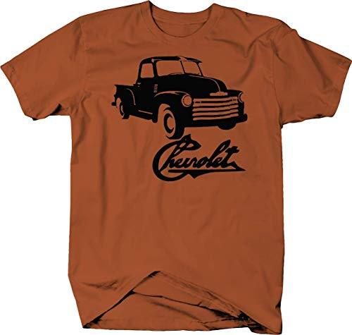 Chevrolet 1950's Pickup Apache Classic Chevy Truck Color Tshirt - XLarge