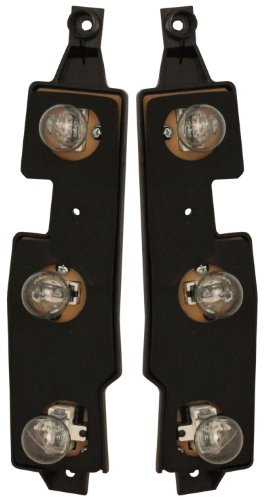 Chevy/Gmc Truck 88-00 Right & Left Pair Set Taillights Taillamps Connector Plate Plate Sierra Part