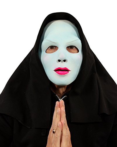 Zagone Studios Satan's Sister Blacklight (UV Reactive Evil Nun) Mask