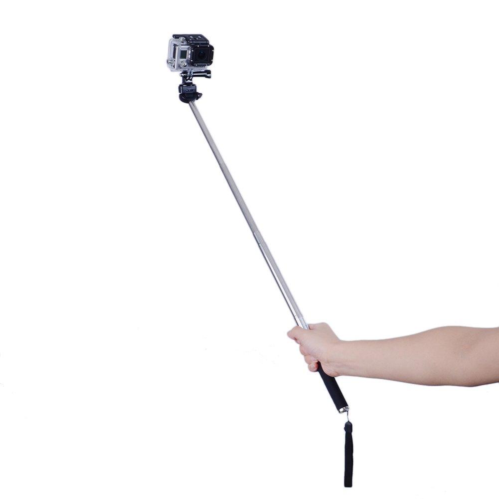 Neewer Extendable Self-portrait Camera Tripod Telescopic Monopod for Digital Camera & Camcorder 10028053