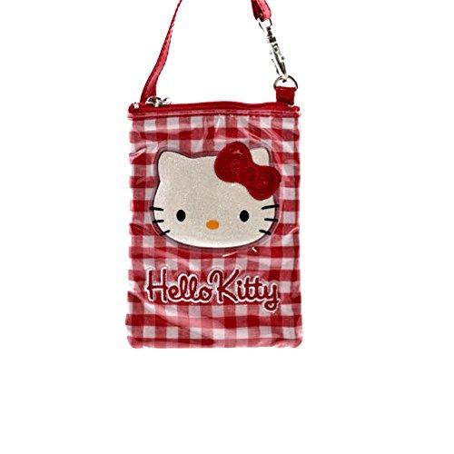 6a2bd59d Hello Kitty Cartera de mano para mujer rojo rojo