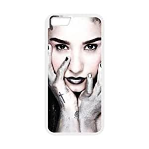 iPhone 6 Plus 5.5 Inch Cell Phone Case White Demi Lovato ghxf