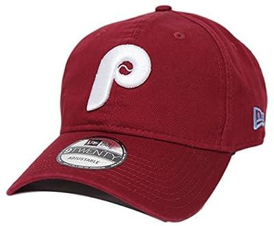 Philadelphia Phillies New Era 9Twenty MLB Core Classic Adjustable Hat - Red