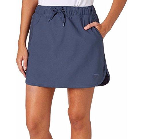 Slazenger Womens Tech Pull-On Golf Skort (Grey Slate, X-Small)