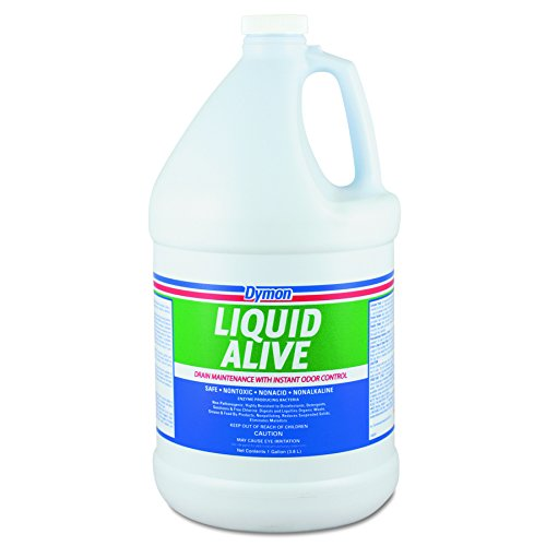 (Dymon DYM 23301 Liquid Alive Enzyme Producing Bacteria, 1gal Bottle (Pack of 4))