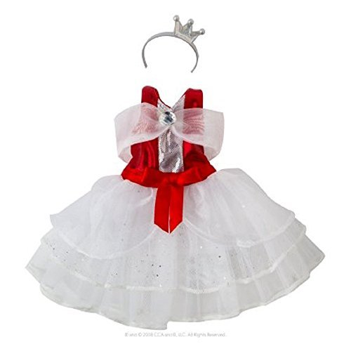 Exclusive 2017 The Elf on the Shelf Claus Couture Collection Peppermint Princess Gown -