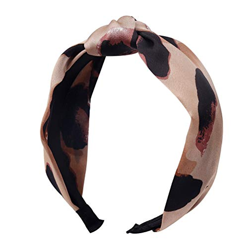 Solid Soft Knotted Flamingo Headband Hairband for Women