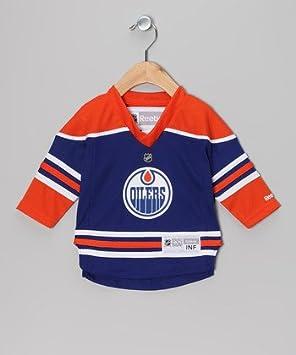 f848f0e56 Edmonton Oilers Licensed NHL Reebok Infant Jersey Size 12-24 months ...