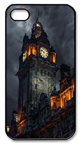 Belfry PC Case Cover for iPhone 4 and iPhone 4S Black New Year gift
