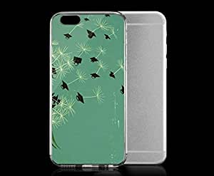 Light weight with strong PC plastic case for Iphone 6 Art Illustration Art Dandelion