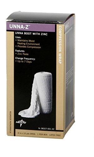 Unna-Z Bandage  W / Zinc, 3X10Yd, 12/CS