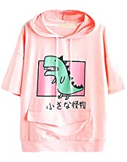 CRB Fashion Womens Teens Animal Anime Cute Emo Dinosaur Cosplay Cartoon Shirt Hoodie Hoody Top Jumper Sweater