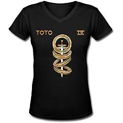YRP popular women' Toto tour Women's t shirt Black L