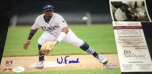Wander Franco Tampa Bay Rays Autographed Signed 8x10 JSA WITNESS COA (Tampa Bay Rays Pictures)