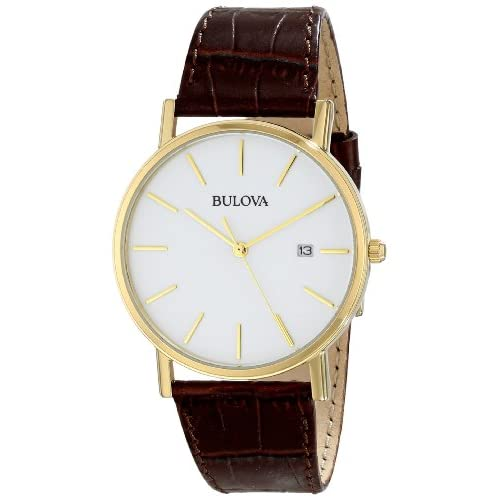 https://www.amazon.com/Bulova-97B100-Gold-Tone-Stainless-Leather/dp/B002LUEI9Q