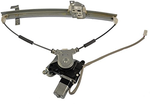 Mazda Regulator - Dorman 741-740 Front Driver Side Replacement Power Window Regulator with Motor for Mazda Protégé