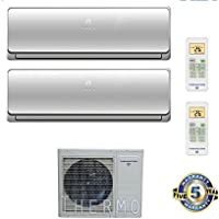 Thermocore T322D-H236 12+18 Ductless Mini Split, Large, White