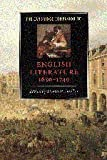 The Cambridge Companion to English Literature, 1650-1740, , 0521564883