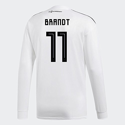 必要条件抗議応用adidas BRANDT # 11 Germany Home Soccer Long Sleeve Stadium Jersey World Cup Russia 2018/サッカーユニフォーム ドイツ ホーム用 ブラント # 11 長袖