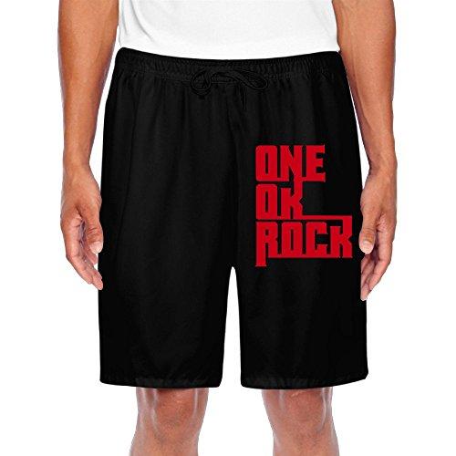 BENZIMM Men's One Ok Rock Shorts Sweatpants