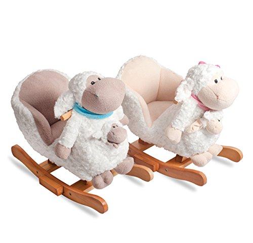 Pleasing Childrens Pink Lamb Rocker Children Toys Rocking Beautiful Inzonedesignstudio Interior Chair Design Inzonedesignstudiocom