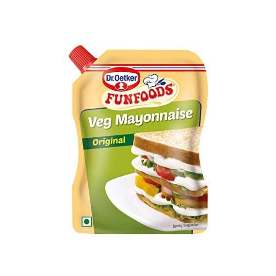 Funfoods Mayonnaise - Vegetable, 875g Pack