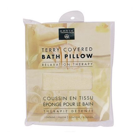 Earth Therapeutics Terry Covered Bath Pillow - 6