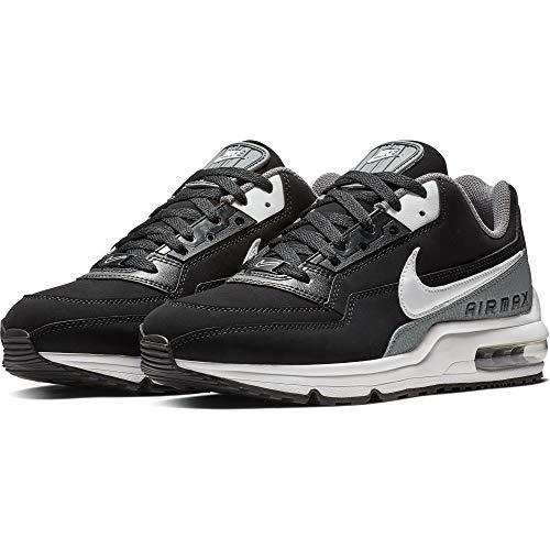 Nike Men Air Max Ltd - NIKE Men's Air Max LTD 3 Running Shoe, Black/White-Cool Grey, 9