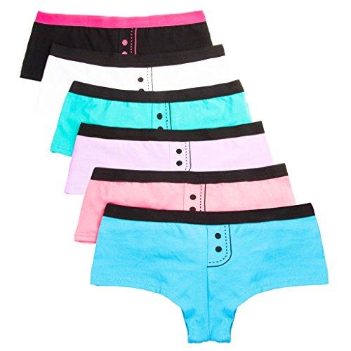 ANZERMIX Womens Cotton Uniquely Shorts product image