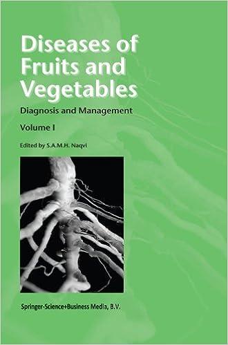 Téléchargement gratuit des meilleures ventes de livres Diseases of Fruits and Vegetables: Volume I Diagnosis and Management in French PDF PDB